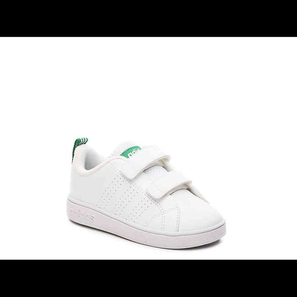Adidas Advantage Clean Baby Sneakers NWT